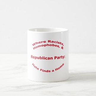 Where Racists, Homophobes, & Hate Coffee Mug