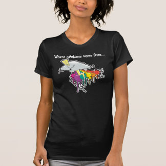 Where rainbows come from Dark T-Shirt