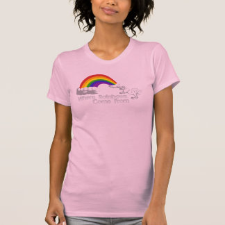 Where rainbows come from t-shirts