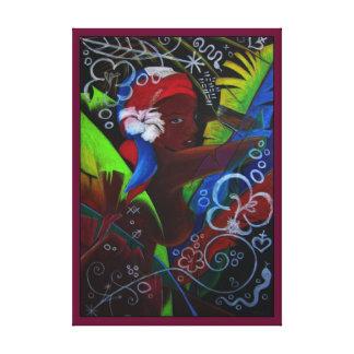 Where Rainbows Dance Art Canvas Print