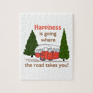 Where Roads Takes You Jigsaw Puzzle
