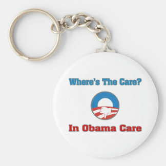 Where's The Care? In Obama Care Keychain