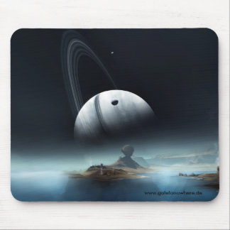 Where Silent Waters Whisper - Mousepad