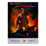 Where Skill and Courage Count Poster