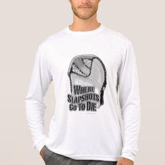 Where Slapshots Go To Die (Hockey) T-Shirt