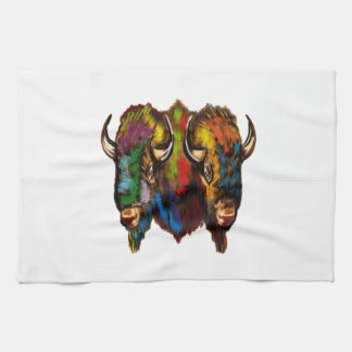 Where the buffalo roam kitchen towels