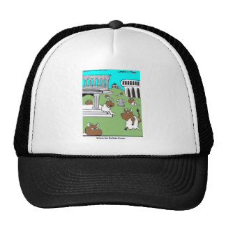 Where The Buffalo Rome Funny Gifts & Tees Trucker Hats