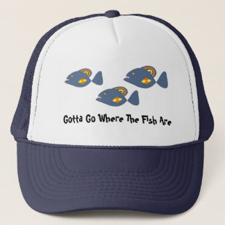 Where the Fish Are Trucker Hat