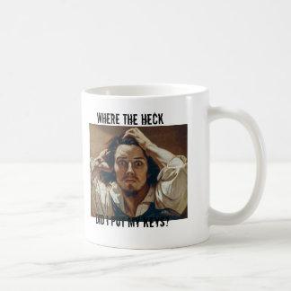 Where the heck did I put my keys? Classic White Coffee Mug