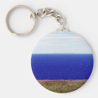 Where The Ocean Meets The Land Key Chain
