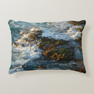 Where the Ocean Meets the Rocks Accent Pillow