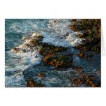 Where the Ocean Meets the Rocks Card
