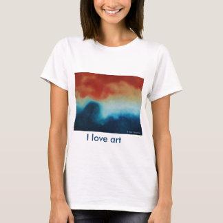 Where the ocean meets the sand T-Shirt