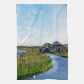 Where the River Ends Kitchen Towel