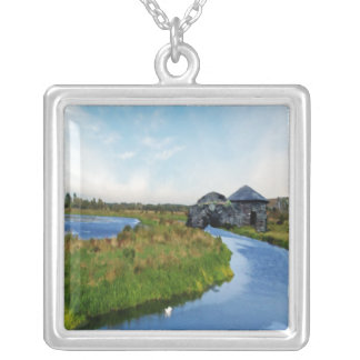 Where the River Ends Necklace