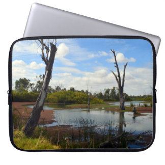 Where The Wildlife Play, 15 inch Laptop Sleeve