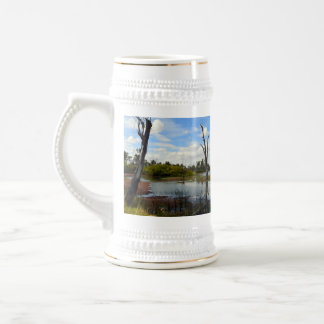 Where The Wildlife Play, River Murray, Australia, Beer Stein