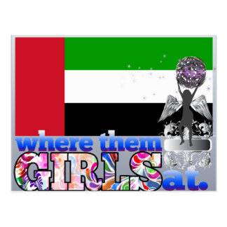 Where them Arab girls at? Postcard