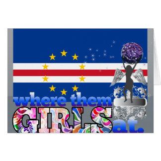 Where them Cape Verdian girls at? Card
