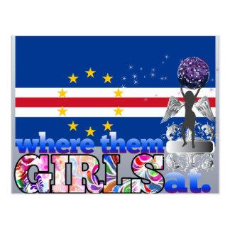 Where them Cape Verdian girls at? Postcard