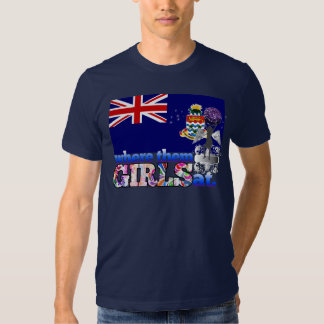Where them Caymanian girls at? T-shirt