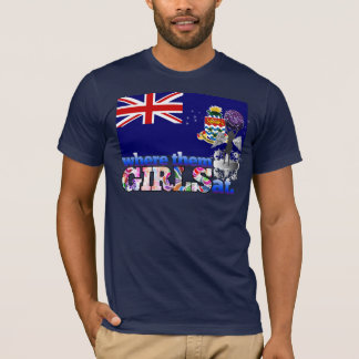 Where them Caymanian girls at? T-Shirt