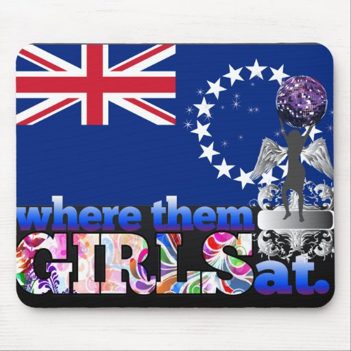 Where them Cook Island girls at? Mouse Pad