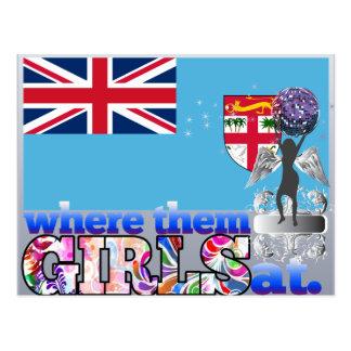 Where them Fijian girls at? Postcard