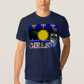 Where them Guadeloupean girls at? Tshirt