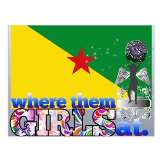 Where them Guianese girls at? Postcard