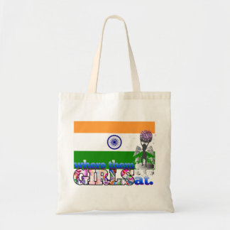 Where them Indian girls at? Tote Bag