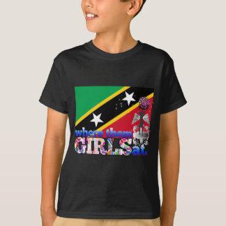 Where them Kittian girls at? T-Shirt