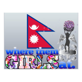 Where them Nepalese girls at? Post Cards