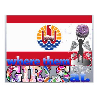 Where them Polynesian girls at? Post Card