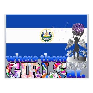 Where them Salvadoran girls at? Postcard