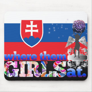 Where them Slovak girls at? Mouse Pad