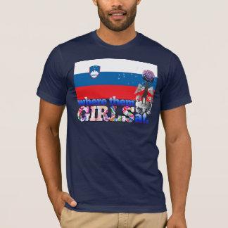 Where them Slovene girls at? T-Shirt
