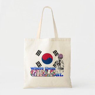 Where them South Korean girls at? Tote Bag