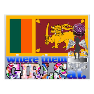 Where them Sri Lankan girls at? Postcard