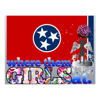 Where them Tennessean girls at? Postcard