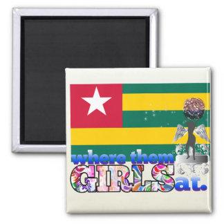 Where them Togolese girls at? Refrigerator Magnet
