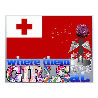 Where them Tongan girls at? Postcard