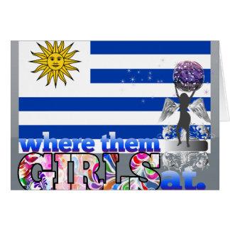 Where them Uruguayan girls at? Card