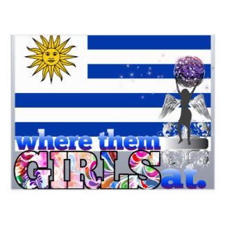 Where them Uruguayan girls at? Postcard