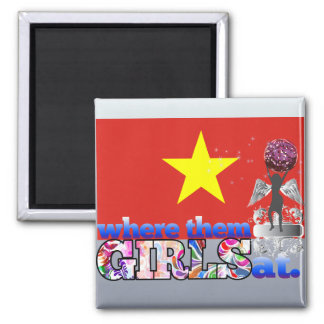 Where them Vietnamese girls at? Fridge Magnet