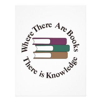 Where There are Books Letterhead