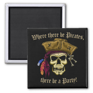 Where There Be Pirates Magnets