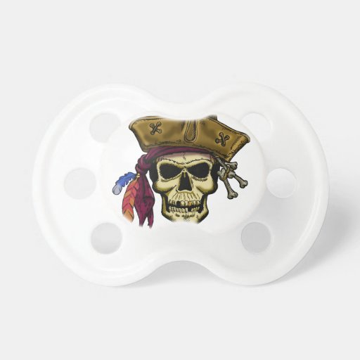 Where there be Pirates, there be a Party! BooginHead Pacifier