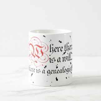 Where There Is A Will... Classic White Coffee Mug