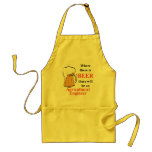 Where there is Beer - Agricultural Engineer Apron